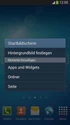 Samsung Galaxy S 4 LTE - Startanleitung - Installieren von Widgets und Apps auf der Startseite - Schritt 3