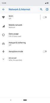 Google Pixel 3XL - Network - Usage across the border - Step 5
