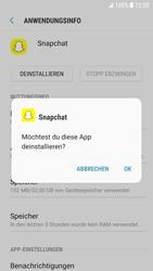 Samsung Galaxy S6 - Android Nougat - Apps - Eine App deinstallieren - Schritt 7