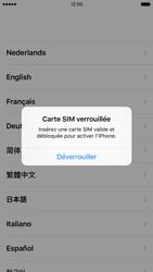 Apple iPhone SE - Premiers pas - Créer un compte - Étape 3