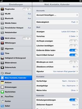 Apple iPad mini - E-Mail - Manuelle Konfiguration - Schritt 4