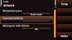 Nokia N97 Mini - Netwerk - gebruik in het buitenland - Stap 9