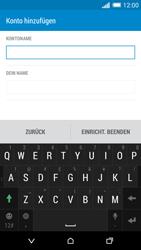 HTC One M8 - E-Mail - Konto einrichten - Schritt 17
