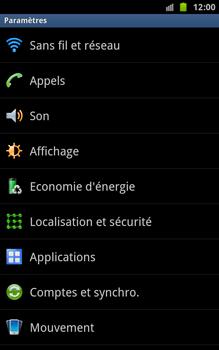 Samsung N7000 Galaxy Note - Internet - Configuration manuelle - Étape 4
