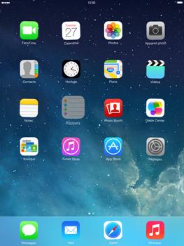 Apple iPad Retina iOS 7 - Prise en main - Personnalisation de votre écran d