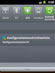 Samsung Galaxy Y - MMS - Automatische Konfiguration - 1 / 1