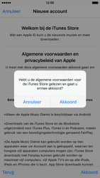Apple iPhone 6 (iOS 9) - apps - account instellen - stap 11