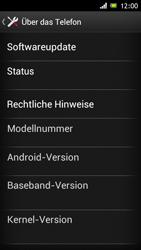 Sony Xperia J - Software - Installieren von Software-Updates - Schritt 6