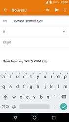 Wiko WIM Lite - E-mails - Envoyer un e-mail - Étape 5