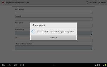 Samsung Galaxy Tab 2 10-1 - E-Mail - Konto einrichten - 0 / 0