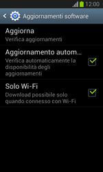 Samsung Galaxy Trend Lite - Software - Installazione degli aggiornamenti software - Fase 7