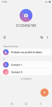 Samsung galaxy-j6-sm-j600fn-ds-android-pie - Contacten en data - Contacten kopiëren van toestel naar SIM - Stap 4