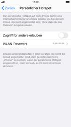 Apple iPhone SE (2020) - WiFi - So aktivieren Sie einen WLAN-Hotspot - Schritt 4