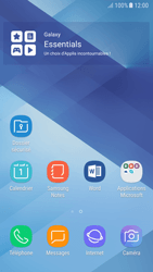 Samsung Galaxy A5 (2017) - Android Nougat - Prise en main - Installation de widgets et d