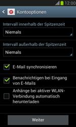 Samsung Galaxy S3 Mini - E-Mail - Konto einrichten (yahoo) - 7 / 13