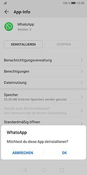 Huawei Mate 10 Pro - Android Pie - Apps - Eine App deinstallieren - Schritt 7