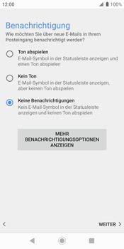 Sony Xperia XZ2 - Android Pie - E-Mail - Konto einrichten - Schritt 20
