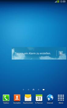 Samsung Galaxy Tab 3 8-0 LTE - Startanleitung - Installieren von Widgets und Apps auf der Startseite - Schritt 9