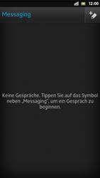 Sony Xperia S - MMS - Erstellen und senden - Schritt 6
