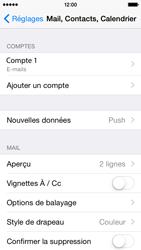 Apple iPhone 5s (iOS 8) - E-mails - Ajouter ou modifier un compte e-mail - Étape 26