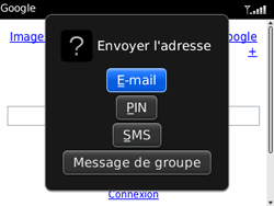 BlackBerry 9320 Curve - Internet - Navigation sur Internet - Étape 10