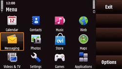 Nokia N97 Mini - MMS - Sending pictures - Step 2
