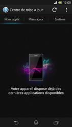 Sony Xperia Z - Logiciels - Installation de mises à jour - Étape 7