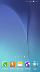Samsung Galaxy S6 Edge - Operazioni iniziali - Installazione di widget e applicazioni nella schermata iniziale - Fase 9