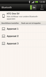 HTC C525u One SV - bluetooth - aanzetten - stap 6