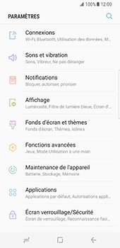 Samsung Galaxy S8 - Internet et roaming de données - Configuration manuelle - Étape 4