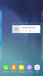 Samsung Galaxy S6 - Android Nougat - Operazioni iniziali - Installazione di widget e applicazioni nella schermata iniziale - Fase 8