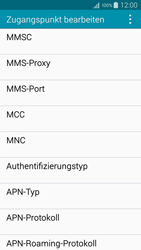 Samsung Galaxy A5 - MMS - Manuelle Konfiguration - 12 / 20