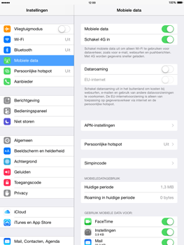 Apple iPad Mini 2 iOS 8 - Internet - aan- of uitzetten - Stap 4