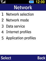 Samsung B550H Xcover 550 - Internet - Manual configuration - Step 5