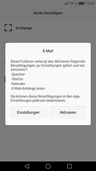 Huawei P9 Plus - E-Mail - Konto einrichten - Schritt 5