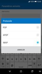 HTC Desire 626 - E-mail - Configuration manuelle - Étape 9