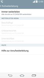 LG G3 S - Anrufe - Rufumleitungen setzen und löschen - 9 / 10