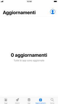 Apple iPhone 6s Plus iOS 11 - Applicazioni - come verificare la disponibilità di aggiornamenti per l