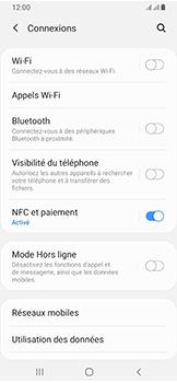 Samsung Galaxy A40 - Wifi - configuration manuelle - Étape 4