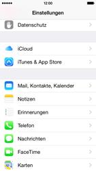 Apple iPhone 5s - E-Mail - Konto einrichten - 2 / 2