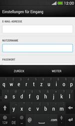 HTC Desire 500 - E-Mail - Konto einrichten - 0 / 0