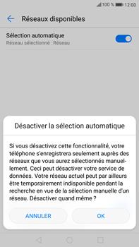 Huawei Mate 9 - Réseau - Sélection manuelle du réseau - Étape 7