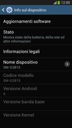 Samsung SM-G3815 Galaxy Express 2 - Software - Installazione degli aggiornamenti software - Fase 7