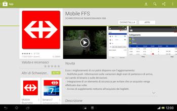 Sony Xperia Tablet Z LTE - Applicazioni - Installazione delle applicazioni - Fase 23