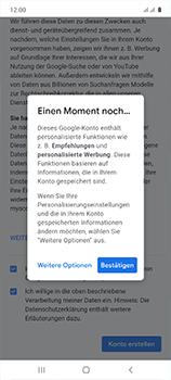Samsung Galaxy A51 - Apps - Einrichten des App Stores - Schritt 18
