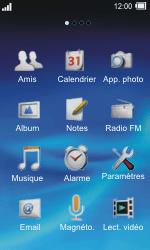 Sony TXT Pro - SMS - Configuration manuelle - Étape 3