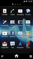 Sony Xperia J - E-Mail - Konto einrichten - Schritt 3