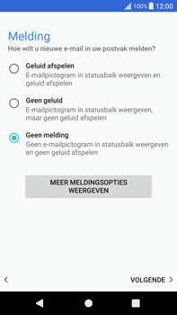 Sony Xperia XA1 Plus (G3421) - E-mail - Account instellen (POP3 zonder SMTP-verificatie) - Stap 20