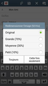 Samsung Galaxy Note 3 - E-mails - Envoyer un e-mail - Étape 15