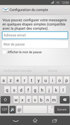 Sony Xperia E4g - E-mails - Ajouter ou modifier un compte e-mail - Étape 5